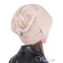Норковая шапка Бант