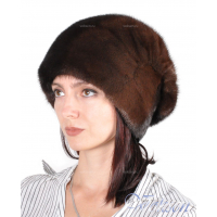Норковая шапка Донна, р-р 55-57
