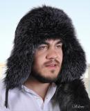Мужские шапки из меха блюфроста